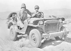 THE FAMOUS WILLYS JEEP.